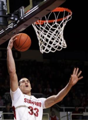 Stanford holds on for 68-65 victory over Utah