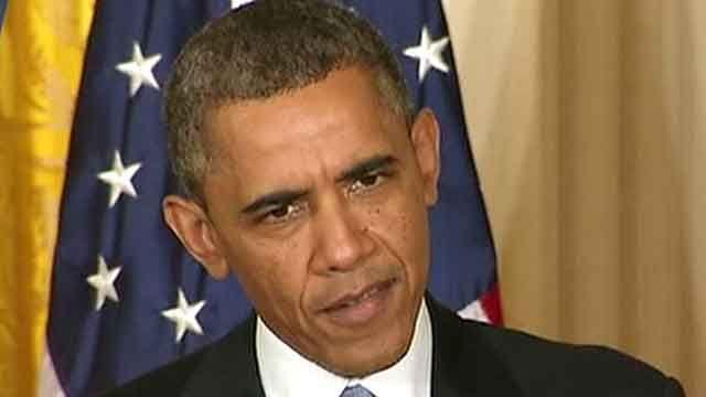 President Obama agitated by scandal?