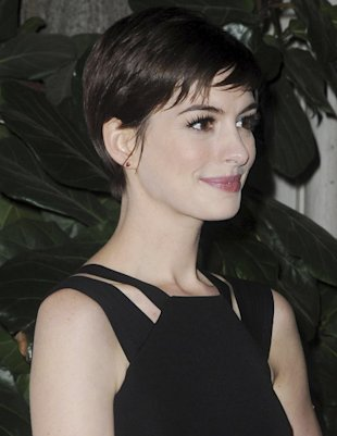 Anne Hathaway. Photp by Jack Shea/Starshots/Broadimage. Women's Media Center 2012 Women's Media Awards