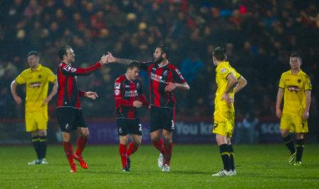 Soccer - FA Cup - Third Round - Replay - Bournemouth v Burton Albion - Dean Court
