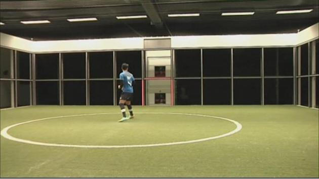 "Bundesliga - Hoffenheim unveils new ""footbonaut"" training machine"