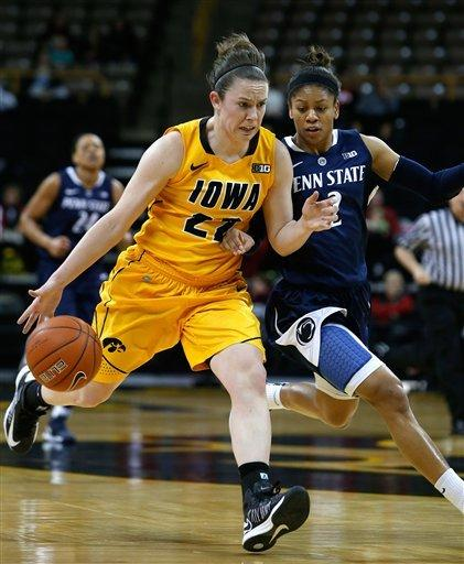Lucas leads No. 8 PSU to 81-69 win over Iowa
