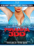 Piranha 3DD Box Art