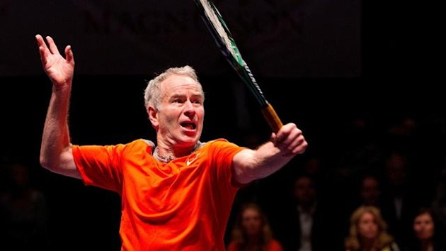 John McEnroe, Stockholm 2012