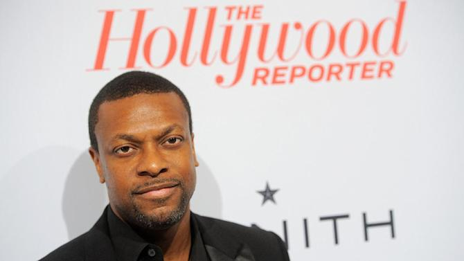 IMAGE DISTRIBUTED FOR THE HOLLYWOOD REPORTER - Chris Tucker arrives at The Hollywood Reporter Nominees' Night at Spago on Monday, Feb. 4, 2013, in Beverly Hills, Calif. (Photo by Chris Pizzello/Invision for The Hollywood Reporter/AP Images)