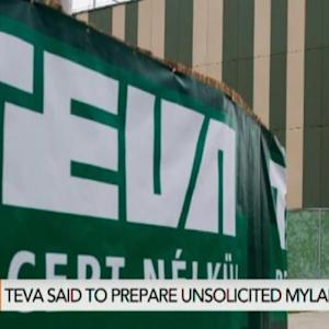 Teva Said to Prepare Unsolicited Bid for Mylan