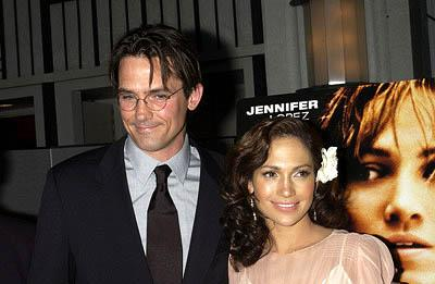 Premiere: Bill Campbell and Jennifer Lopez at the New York premiere of Columbia's Enough - 5/21/2002