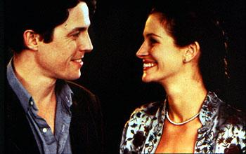 Hugh Grant and Julia Roberts in Universal's Notting Hill