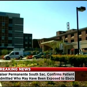 Sacramento Kaiser Permanente Patient Being Tested For Ebola After Possible Exposure