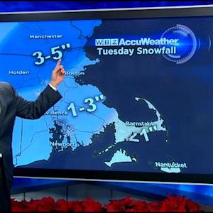 WBZ AccuWeather Midday Forecast For Dec. 16