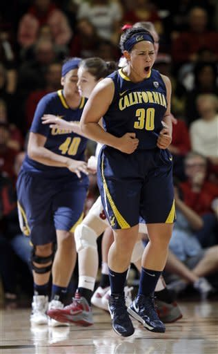 No. 7 Cal women top fifth-ranked Stanford 67-55