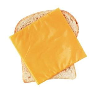 American cheese, also known as pasteurized prepared cheese product.