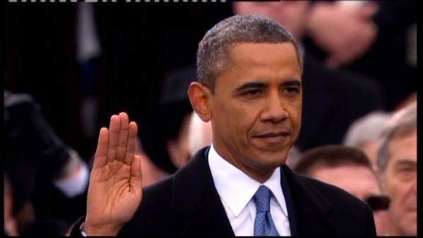 Inauguration Day 2013 sees Obama sworn in again