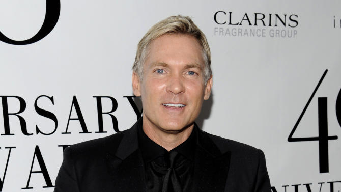 """FILE - This May 21, 2012 file photo shows weatherman Sam Champion from """"Good Morning America"""" attending the FiFi Fragrance Awards at Alice Tully Hall in New York. Champion will host The Daytime Entertainment Emmy Awards, joining forces with HLN network's A.J. Hammer and Robin Meade. HLN announced Wednesday, June 5, 2013, that this trio will preside when the awards show airs live June 16 from the Beverly Hilton hotel in Beverly Hills, Calif. (AP Photo/Evan Agostini, file)"""