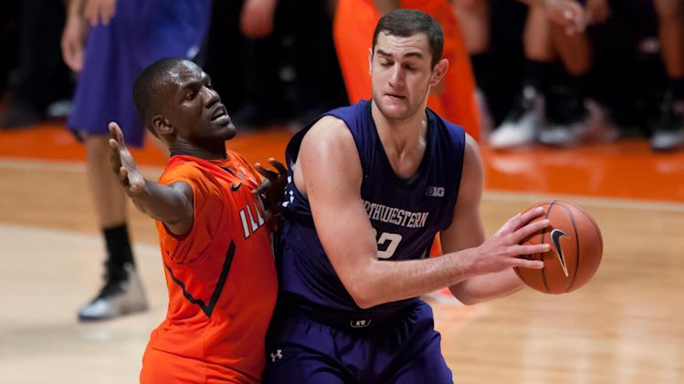NCAA Basketball: Northwestern at Illinois