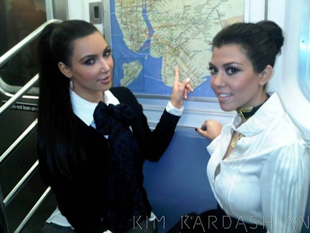 kim kardashian subway new york city adventure x