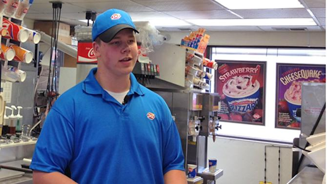 Minnesota DQ manager's good deed gets attention