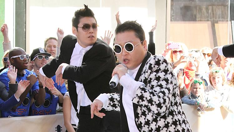 """Psy Performs On NBC's """"Today Show"""""""