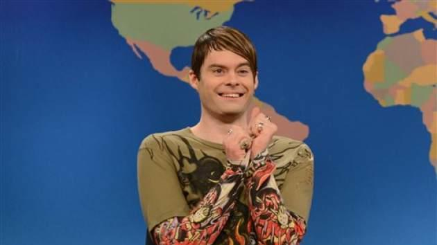 Bill Hader on 'Saturday Night Live' -- NBC