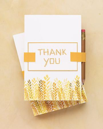 Do Write Thank-You Notes Right Away