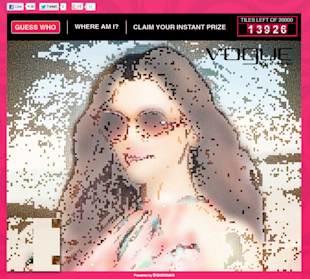 Vogue Eyewear Creates Digital Mosaic To Unveil The New Brand Ambassador image Vogue eyewear mosaic contest