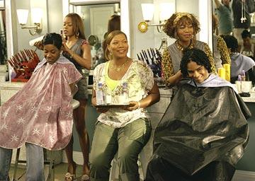 Golden Brooks , Queen Latifah and Alfre Woodard in MGM's Beauty Shop