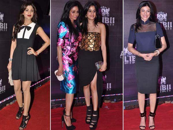 Celeb Style: At Sridevi's 50th Birthday Party