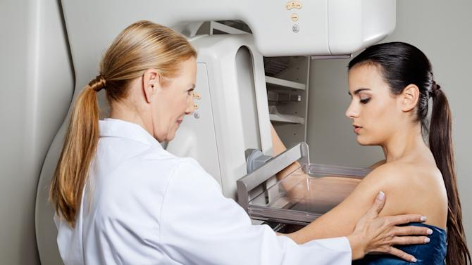 Currently, the American College of Obstetricians and Gynecologists recommends women get one mammogram per year starting at age 40.