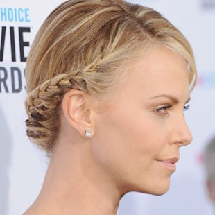 Hairstyles Halo Braid : how to create halo braids ss12 with locks coiffed into softly braided ...