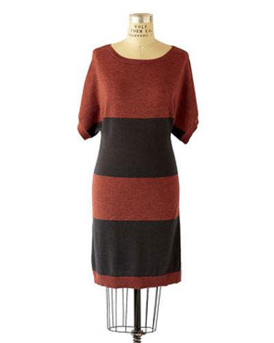 Merino Boatneck Dress
