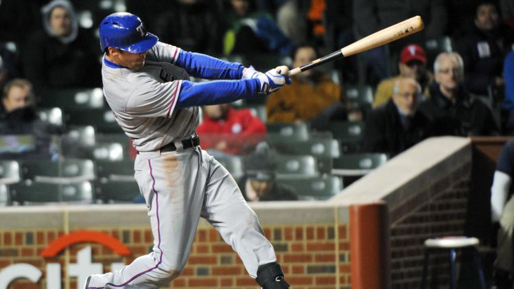 MLB: Texas Rangers at Chicago Cubs