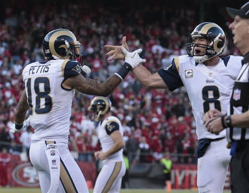 Rams, 49ers play to 24-24 tie
