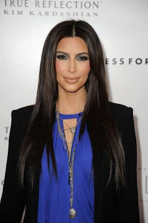 Kim Kardashian arrives at the 'True Reflection' Fragrance Launch at The London West Hollywood on March 22, 2012 -- Getty Images