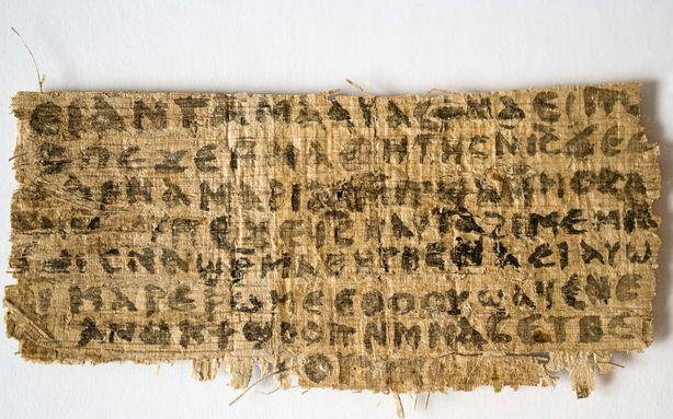 Jesus' Wife Papyrus Might Be Just Some 'Crazy Thing'