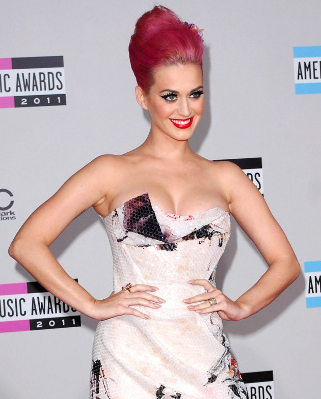 7. US singer Katy Perry gained a place in the top ten / WENN