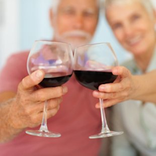 That glass of vino can help your memory stay sharp.