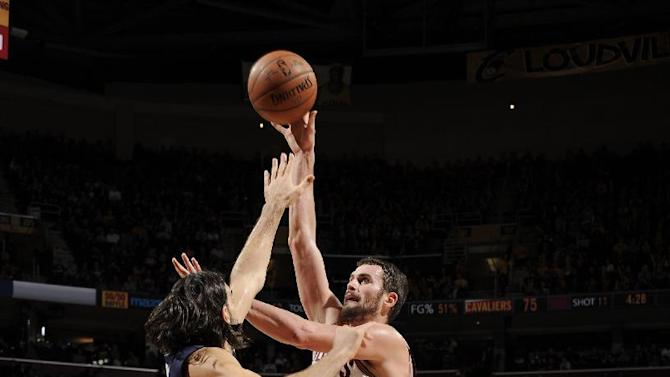 Love leads Cavaliers over Pacers 109-97