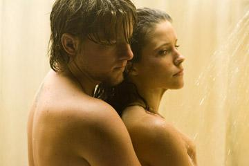 Zachary Knighton and Sophia Bush in Rogue Pictures' The Hitcher