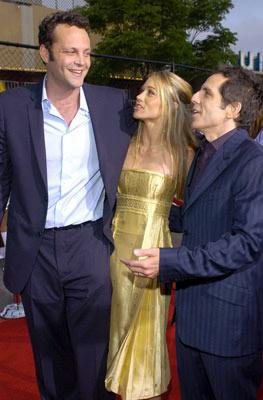 Vince Vaughn , Christine Taylor and Ben Stiller at the Los Angeles premiere of 20th Century Fox's Dodgeball: A True Underdog Story