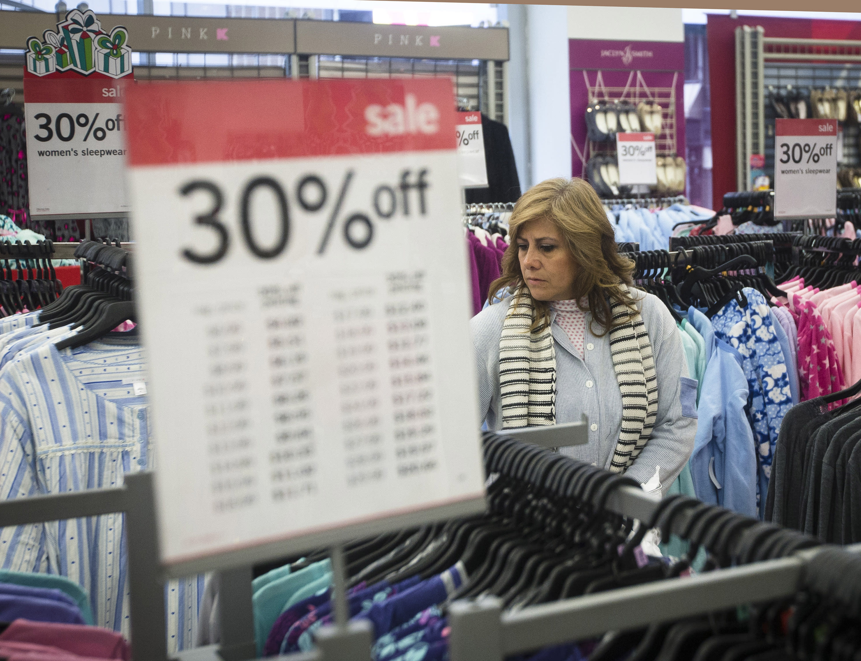 Sales for holiday shopping season come down to the wire
