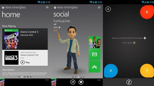 Microsoft updates Android Xbox SmartGlass app for 7-inch tablets