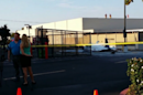 Plane Crashes in to San Diego Parking Lot