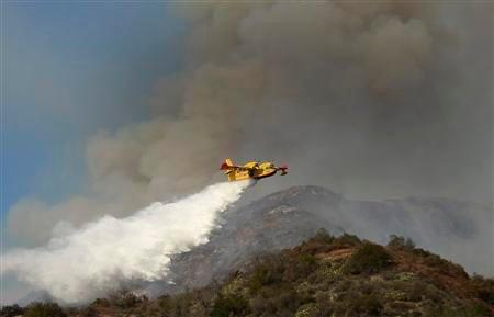 Boeing's New Idea for Shooting Wildfires into Submission