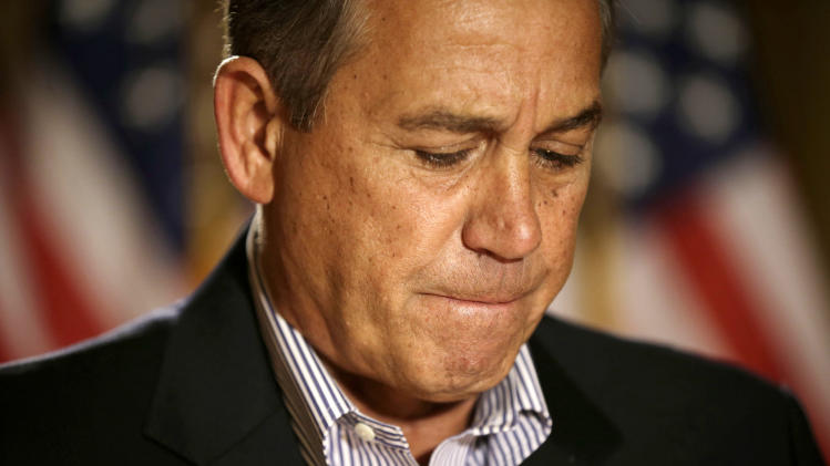 Boehner: No progress in fiscal cliff talks