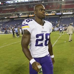 Minnesota Vikings reverse course on Adrian Peterson