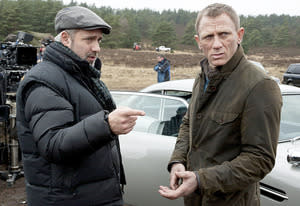 Sam Mendes, Daniel Craig | Photo Credits: MGM/Columbia Pictures