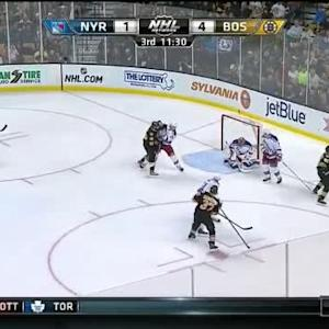 Henrik Lundqvist Save on Patrice Bergeron (08:28/3rd)