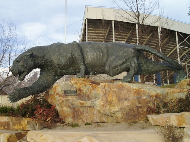 The BYU Cougar statue — Wikipedia