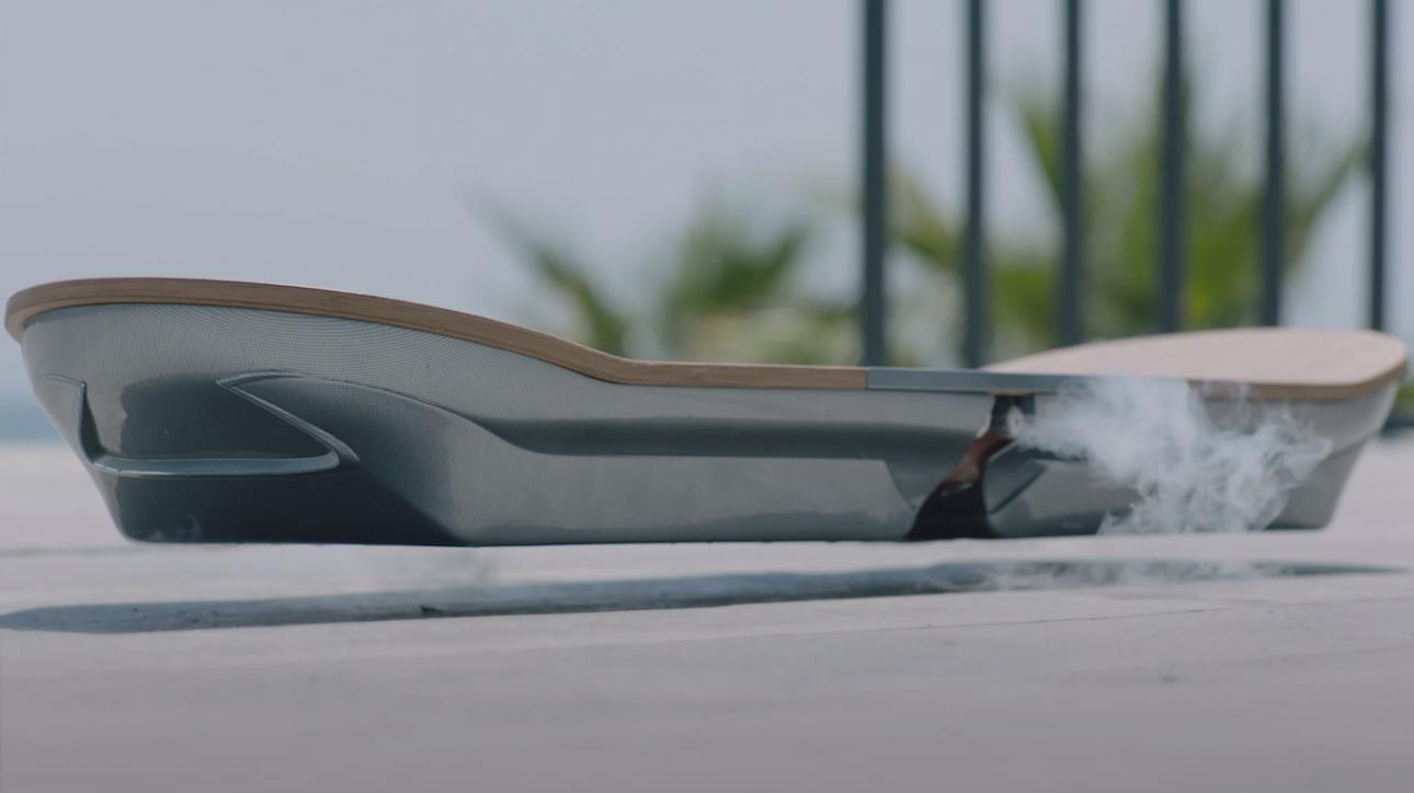 Video explains the science behind the Lexus Hoverboard