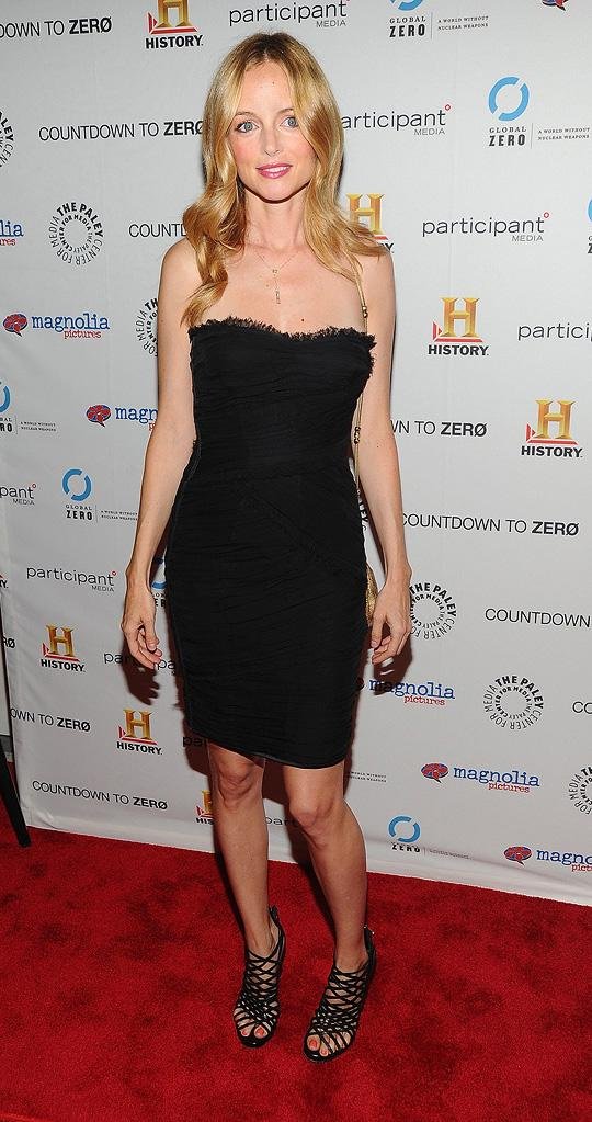 Countdown to Zero NY Premiere 2010 Heather Graham